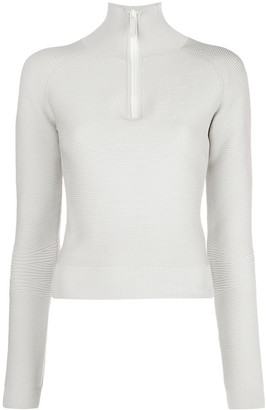 Altuzarra Ribbed Logo Detail Sweatshirt
