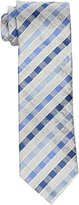 Geoffrey Beene Men's big-tall Big-tall High and Low Stripe Extra Long Tie