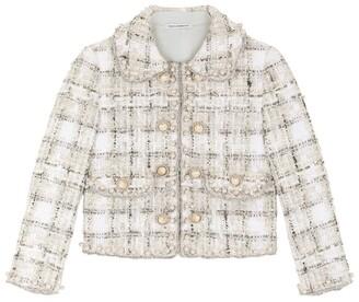 Dolce & Gabbana Kids Tweed Jacket (8-12 Years)