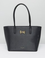 Ted Baker Curved Bow Small Zip Shopper Bag
