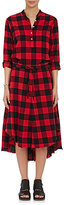 NSF Women's Caleb Shirtdress-BLACK, RED