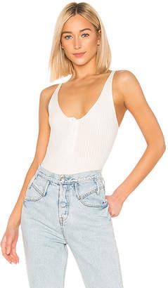 superdown Teyana Button Front Bodysuit