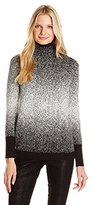 DKNY Women's Ombre Funnel Neck Tunic
