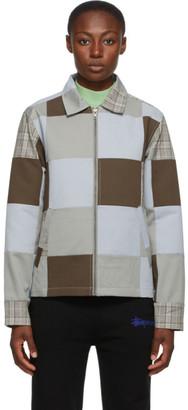 Stussy Multicolor Patchwork Zip Jacket