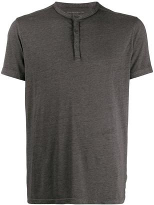 John Varvatos button up T-shirt
