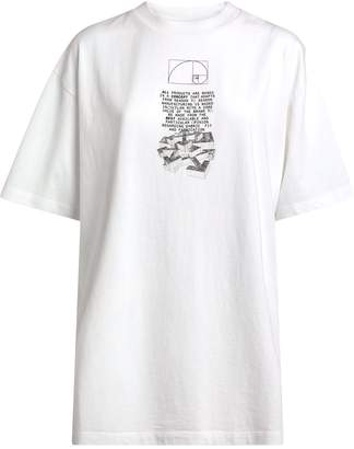 Off-White Off White Cotton Dripping Arrows T-Shirt