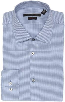 John Varvatos Micro Check Regular Fit Dress Shirt