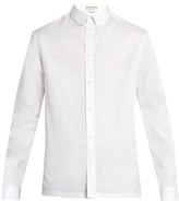 Balenciaga Stud-embellished Collar Cotton-poplin Shirt