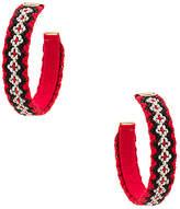 Mercedes Salazar Candongas Tejidas Earrings