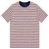 Derek Rose Dylan Orange Micro Modal-Blend T-Shirt