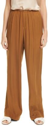 Vince Silk Blend Pull-On Pants