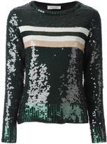 Aviu sequin embellished top