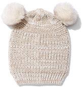 New York & Co. Double Pom-Pom Hat