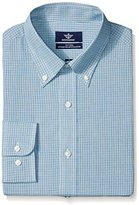 Dockers Multi Check Fitted Shirt - Spread Collar