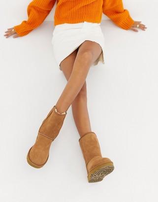 UGG Classic Short II Chestnut Boots-Tan