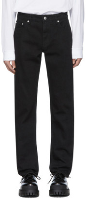Burberry Black Straight-Leg Jeans