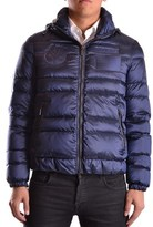 Geospirit Men's Blue Polyamide Down Jacket.