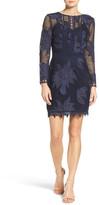 Adelyn Rae Floral Lace Sheath Dress