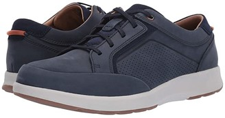 Clarks Un Trail Form (Navy Nubuck) Men's Shoes