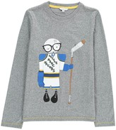 Little Marc Jacobs Mr Marc Hockey Player T-Shirt