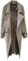 Y/Project Beige Cotton Trench coats