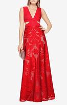 BCBGMAXAZRIA Marilyne Cutout Lace Gown