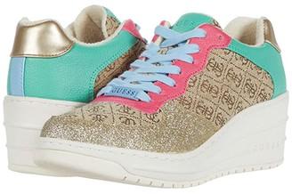 GUESS Rillie (Gold Multi Texture) Women's Shoes