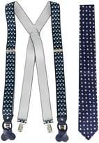 fe-fe floral braces and tie set