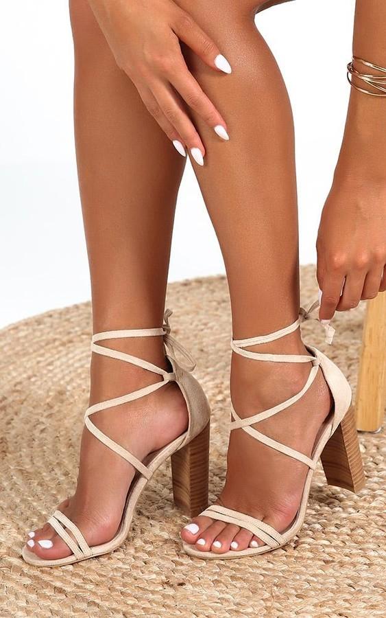 d5c6400109b x Billini - Jace heels in nude micro - 5 Euro Vacay Edit