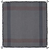 Jane Carr 'The Nomadic Square' houndstooth lambswool scarf