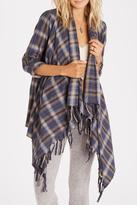 Billabong Flannel Plaid Wrap