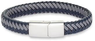 Nordstrom Woven Leather Bracelet