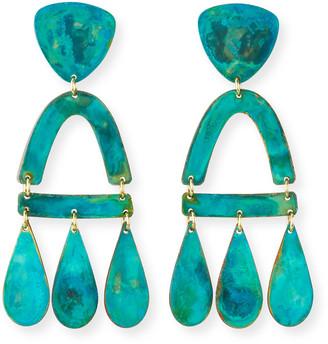 We Dream In Colour Castara Earrings, Verdi