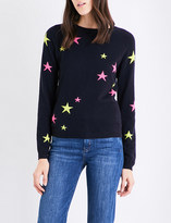 Chinti and Parker Star-print cashmere jumper