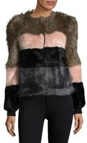 Vero Moda Dona Faux Fur Jacket