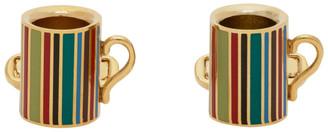 Paul Smith Gold Mug Cufflinks