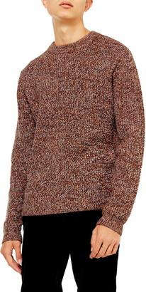 Topman Twist Crewneck Sweater