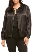 Tart Plus Size Women's Azaria Reversible Bomber Jacket