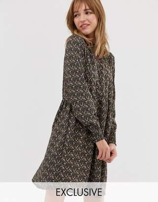 JDY ditsy printed smock dress-Multi