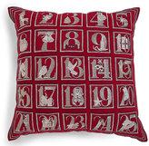 Marks and Spencer Advent Calendar Cushion