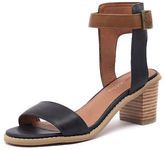 I Love Billy New Quentins Navy Tan Womens Shoes Casual Sandals Heeled