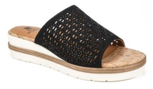 White Mountain Women's Natasha Platform Sandals Women's Shoes