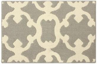 Laura Ashley Aubrey Light Gray/Ivory Area Rug Rug Size: Rectangle 2' x 3'