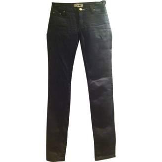Acne Studios \N Blue Denim - Jeans Trousers