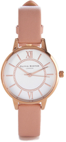 Olivia Burton Women's Wonderland Dusty Pink Mix Watch Rose Gold/Pink