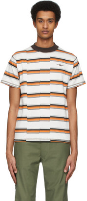 Off-White Phipps Striped Faultline T-Shirt