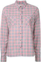 MAISON KITSUNÉ Vichy shirt - women - Cotton - 34