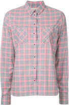 MAISON KITSUNÉ Vichy shirt - women - Cotton - 36