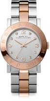 Marc by Marc Jacobs Amy 36 MM Two Tone Stainless Steel Women's Watch