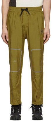 Oakley by Samuel Ross Yellow Tech Track Pants